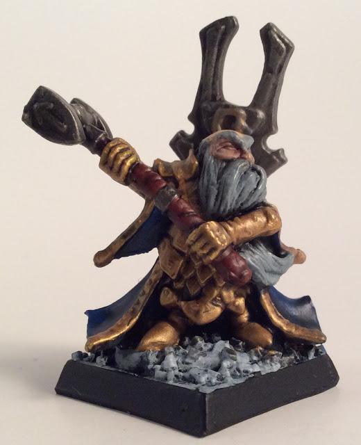 Frostgrave Dwarf Wizard