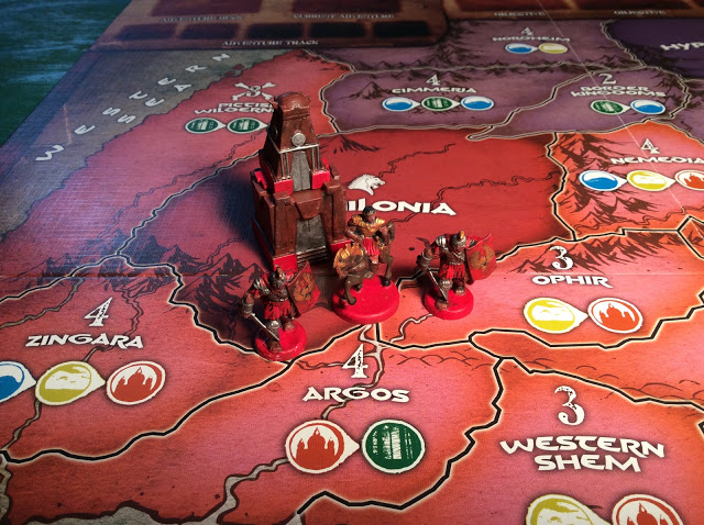 Age of Conan The Strategy Game Board Game