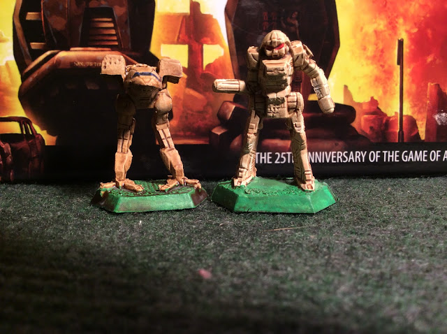BattleTech miniatures