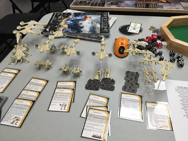 Drop Zone Commander Battle Report - PHR