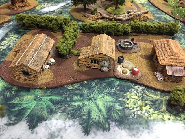 20mm Vietnam Miniatures Village