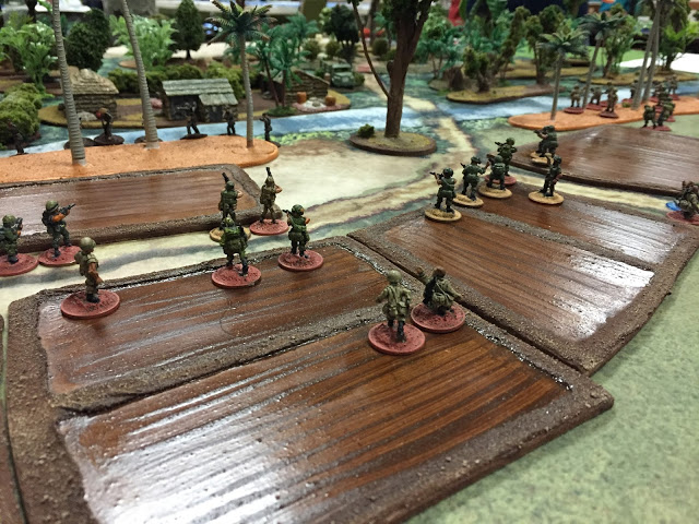 Charlie Company Miniatures Game Battle Report