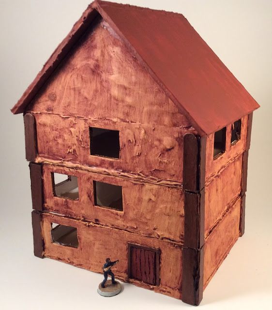 Scratch Built 28mm House