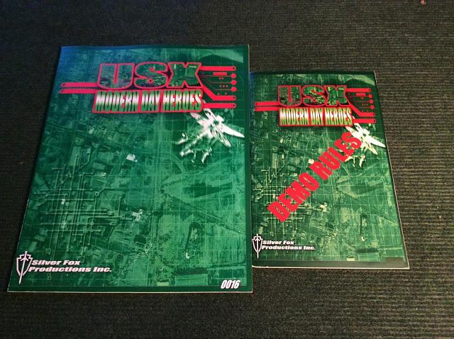 USX Modern Day Heroes Rulebooks