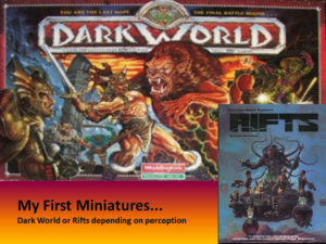 My First Miniatures… Ever!!!   Plus some rambling.