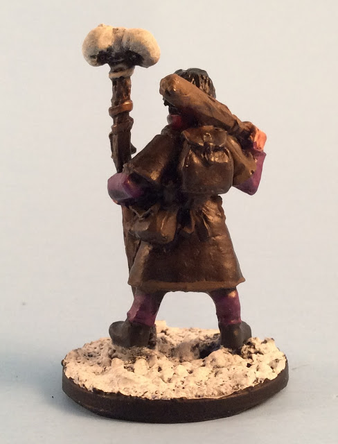 Frostgrave Necromancer Apprentice painted by Must Contain Minis