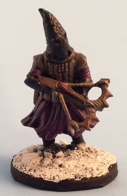 Frostgrave Cultist Crossbowman - Frostgrave Plastic Cultists Review