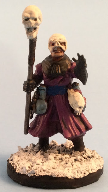 Frostgrave Cultist Apothecary - Frostgrave Plastic Cultists Review