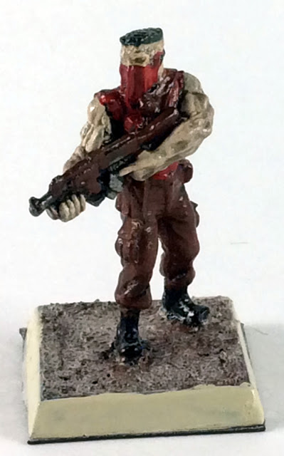 Post Apocalyptic Warrior - 32mm Miniature