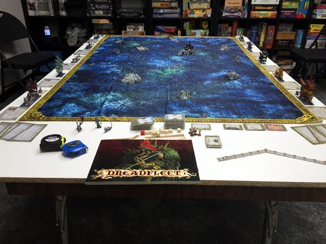 Dreadfleet Board / Miniatures Game