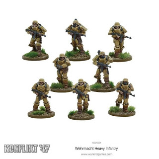 Wehrmacht Heavy Infantry by Warlord Games