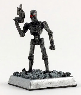 A Terminator Like Miniature by Reaper Miniatures