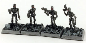 Showcase: Cyber-Reavers by Reaper Miniatures