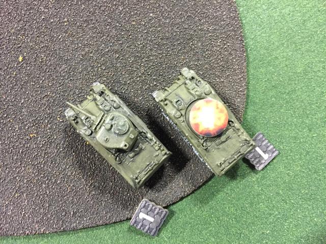 Tanks Battle Report