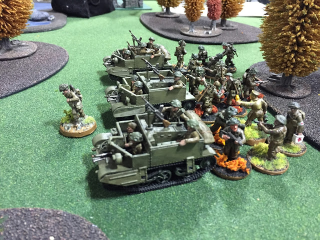 Infantry and Universal Carriers for Bolt Action