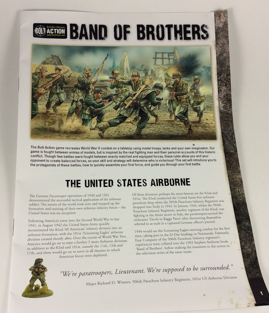 Band of Brothers booklet