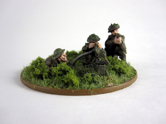 Showcase: British MMG Team for Bolt Action