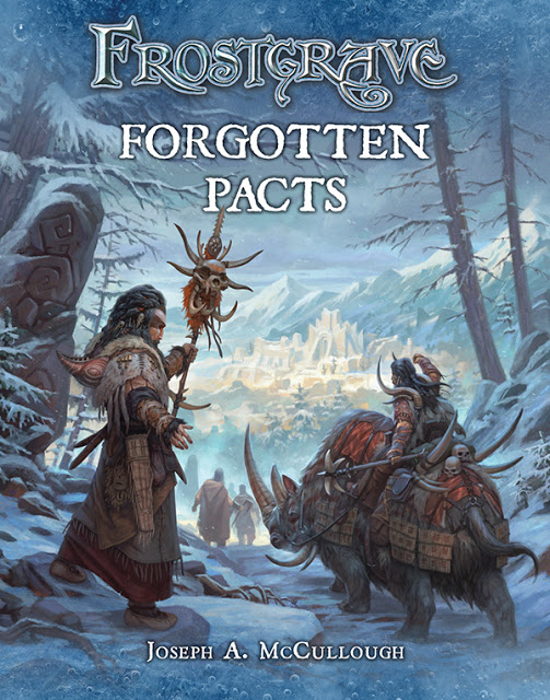 Cover of Frostgrave: Forgotten Pacts published by Osprey Games