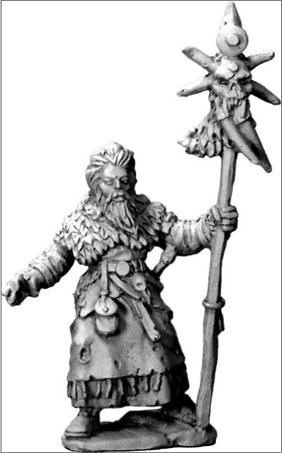 Frostgrave Wizard