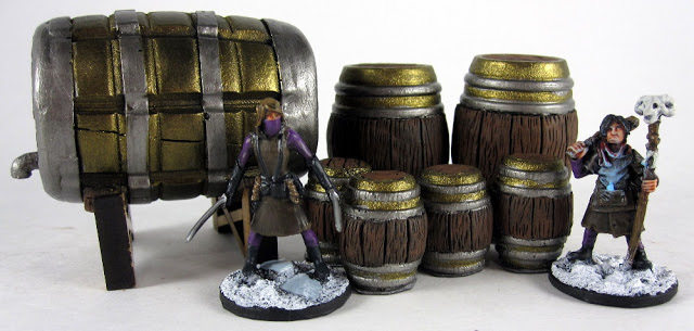 Scenery Review - Size Comparison for Frostgrave