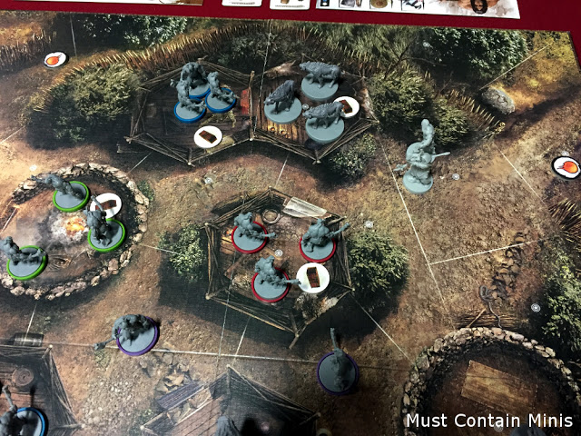 Conan Board Game by Monolith distributed by Asmodee