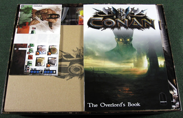 Conan Board Game Unboxing