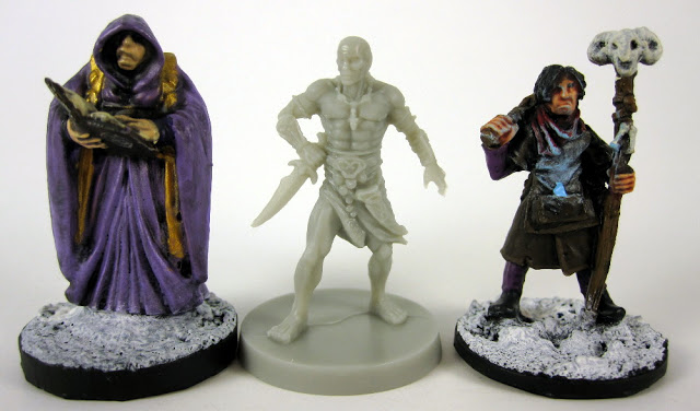 Conan Miniature Scale Comparison - Reaper, North Star, Monolith