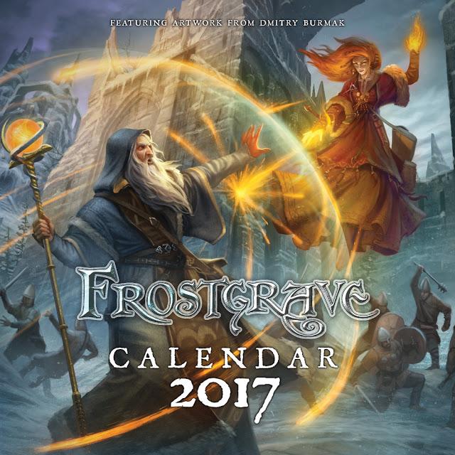 Frostgrave Calendar 2017