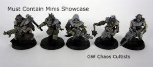 Showcase: GW Chaos Cultists