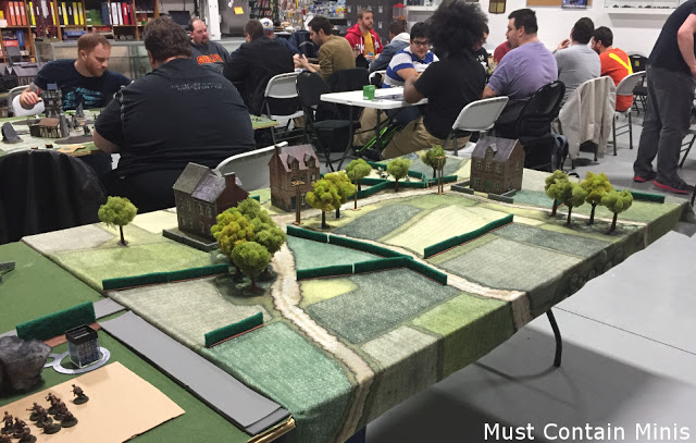Bolt Action Battle Report – 1000 points – British vs Germans
