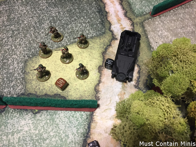 Brits take out the German troops