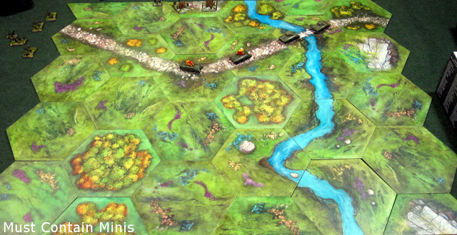 TerraTiles Review of Misty Moorlands - A Terrain System at 15mm or 28mm