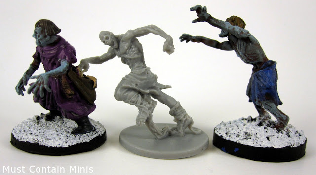 Zombicide: Black Plague Unboxing Size Comparison
