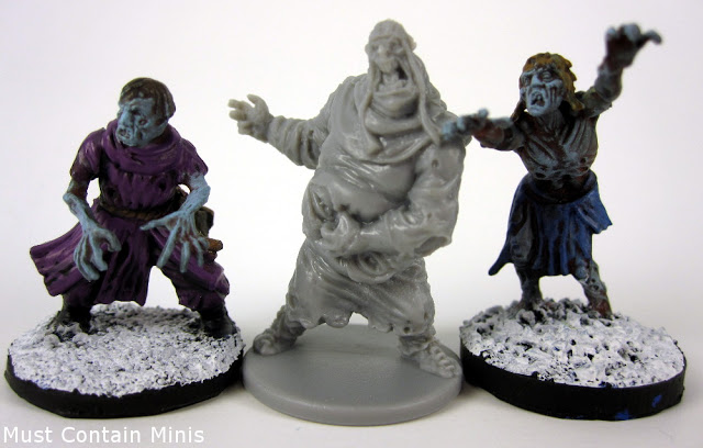 Zombicide Black Plague Model Comparison
