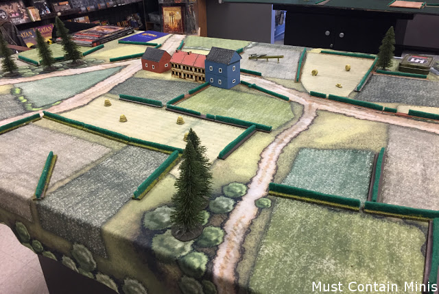 15mm WW2 Miniatures Gaming - Terrain pieces