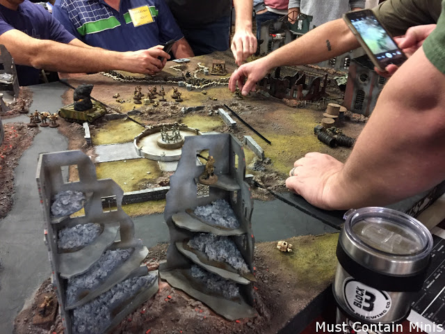 Bolt Action at a gaming convention