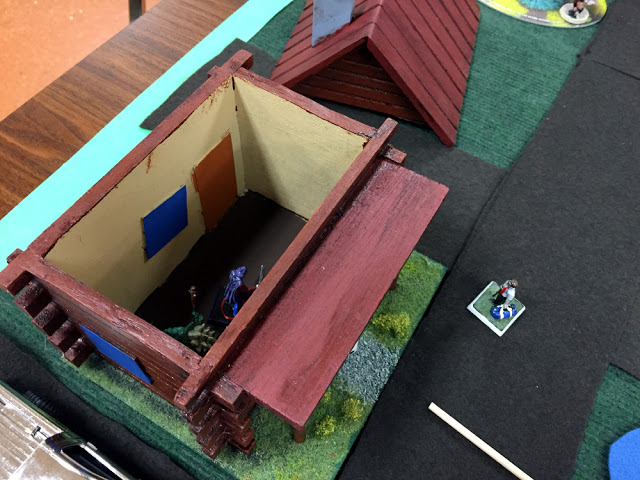 Homemade Birdhouse for Wargaming