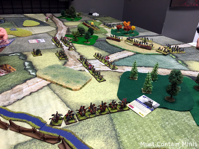 Playing Longstreet in a Review of Cigar Box Battle Mats