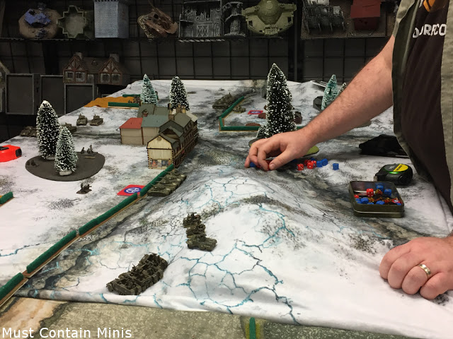 Cigar Box Battle Mat Review for Flames of War