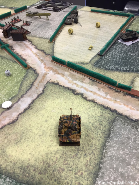 Flames of War Battle Report - Germans vs Americans
