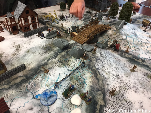 TerraTiles Ice Wall as a Spell Effect