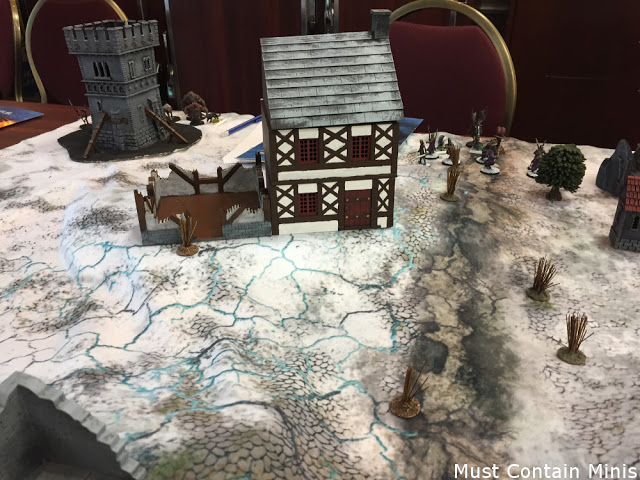 Review of MDF terrain for Frostgrave
