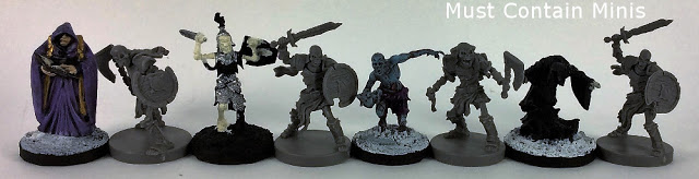 Comparing the size of Runewar miniatures versus other manufacturers