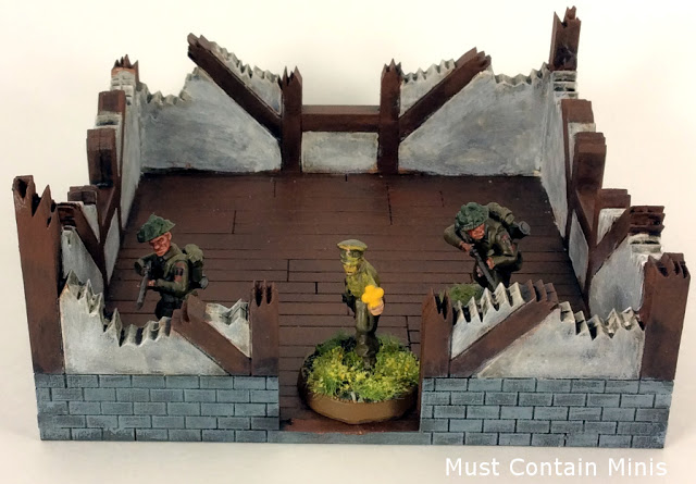 XOLK MDF Ruined Cottage Terrain 28mm