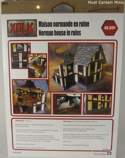 Review of an MDF Terrain product for Bolt Action and Frostgrave