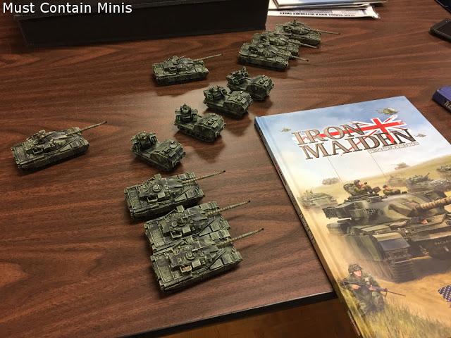Iron Maiden units for Team Yankee