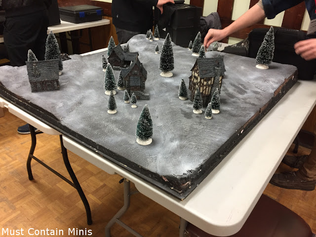 Frozen table for the Hobbit - Wargaming Terrain