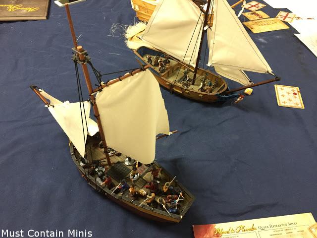 Firelock Games Blood & Plunder Sloop Combat - Ships