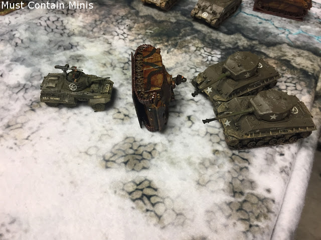 German defeat - Flames of War Battle Report