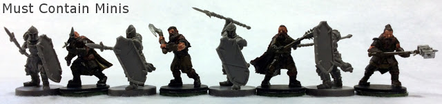 Runewars figures size comparison to Frostgrave minis